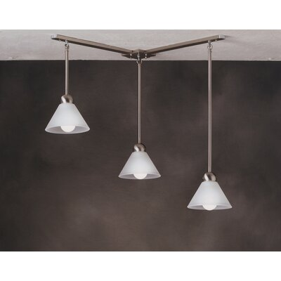 Kichler Mini Multi-Pendant Hanger in Brushed Nickel