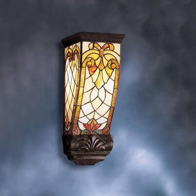 Kichler Tiffany 1 Light Wall Sconce with Accent
