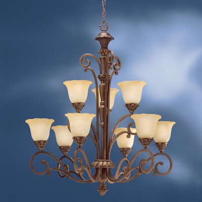 Kichler Cheswick 9 Light Chandelier
