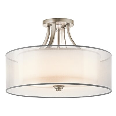Kichler Lacey 4 Light Semi Flush Mount