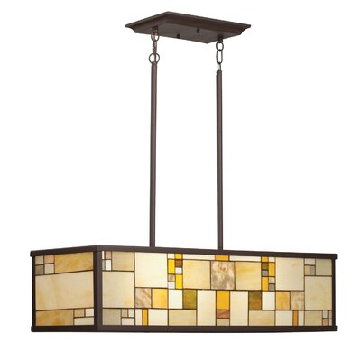 Riverview 4 Light Kitchen Island Pendant