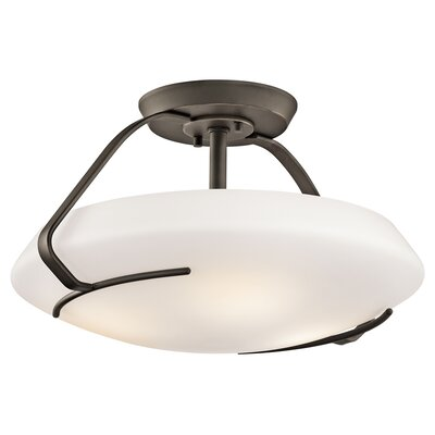 Kichler 4 Light Semi Flush Mount