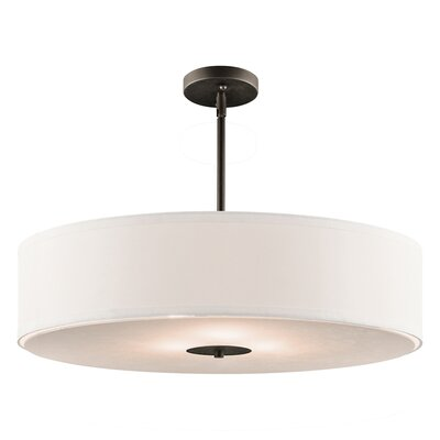 Kichler Crystal Persuasion 3 Light Inverted Drum Pendant
