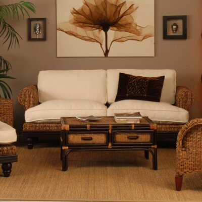Jeffan Tropical Abaca Small Astor Sofa