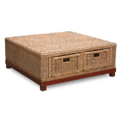 Jeffan Rinna Woven Coffee Table