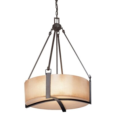 Troy Lighting Austin 4 Light Drum Foyer Pendant