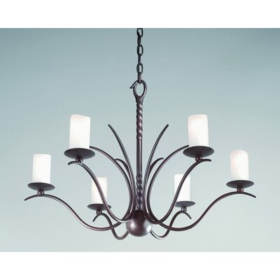 Troy Lighting Avalon 6 Light Chandelier