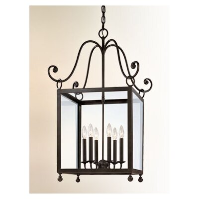 Troy Lighting Mill Valley 6 Light Medium Foyer Pendant