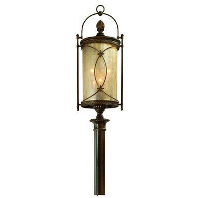 Corbett Lighting St. Moritz 6 Light Outdoor Post Lantern