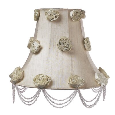 Jubilee Collection Large Crystal Dangle Lamp Base with Optional Shade