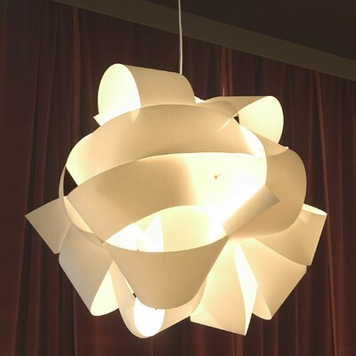 Santa & Cole Leonardo Wood Suspension Light