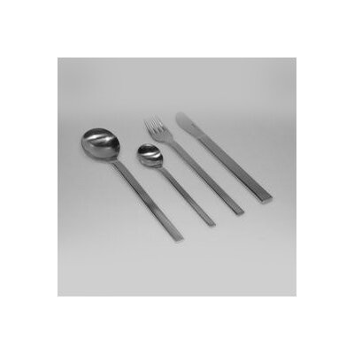 mono Mono-A 5 Piece Flatware Set with Long Blade Table Knife and Giftbox by Peter Raacke