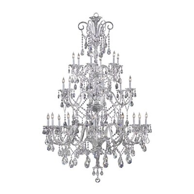 Quorum Bohemian Marien 24 Light Chandelier