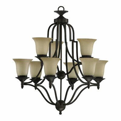 Quorum Coventry 9 Light Chandelier