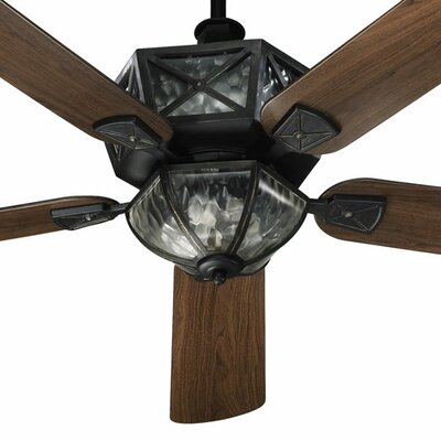 Quorum 52&quot; Auburn 5 Blade Patio Ceiling Fan