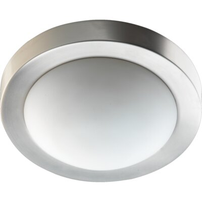 Quorum Two Light Flush Mount