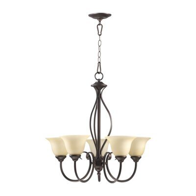 Quorum Spencer 5 Light Chandelier