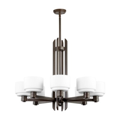 Quorum Stillman 8 Light Chandelier