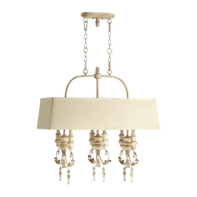 Quorum Salento 6 Light Kitchen Island Pendant