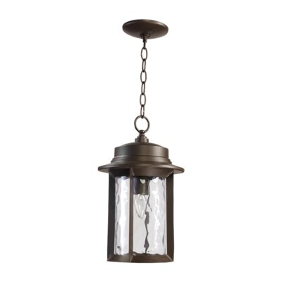 Quorum Charter 1 Light Outdoor Pendant