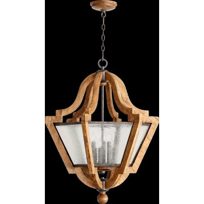Quorum Ashford 6 Light Round Foyer Pendant