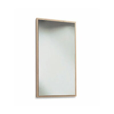 "Scarabeo by Nameeks Brio 39.5"" Mirror with Wood Frame"