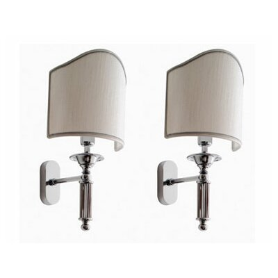 Scarabeo by Nameeks Antika Applique 1 Light Vanity Light (Set of 2)