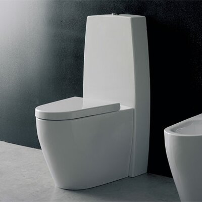 Scarabeo by Nameeks Tizi Wall Toilet Tank Only