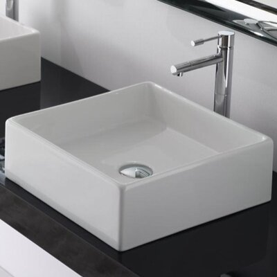 Scarabeo by Nameeks Teorema Vessel Bathroom Sink