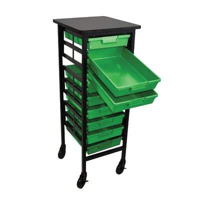H. Wilson Company Mobile Work Center with Storage Trays