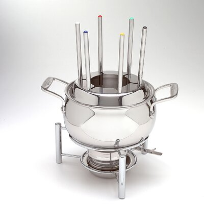 All-Clad Specialties 3 Qt. Fondue Pot with Ceramic Insert