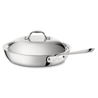 Stainless Steel French Skillet with Domed Lid