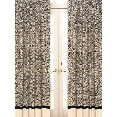 Sweet Jojo Designs Animal Safari Set of 2 Window Panels