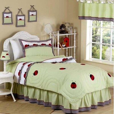 Sweet Jojo Designs Ladybug Parade Kid Bedding Collection