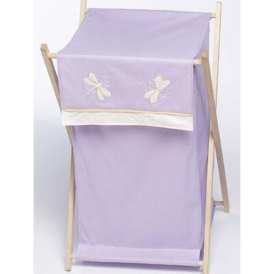 Sweet Jojo Designs Purple Dragonfly Dreams Laundry Hamper