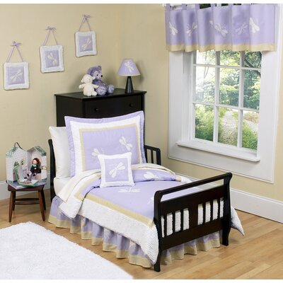 Sweet Jojo Designs Purple Dragonfly Dreams Toddler Bedding Collection