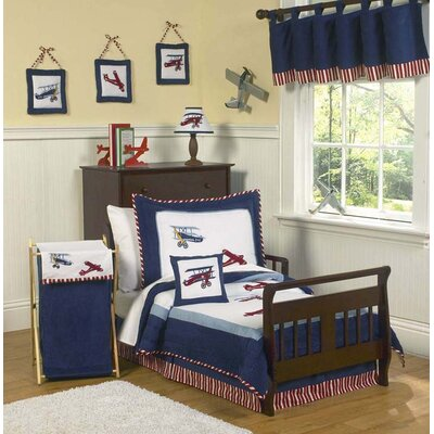Sweet Jojo Designs Vintage Aviator Toddler Bedding Collection
