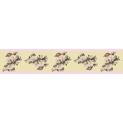Abby Rose Collection Wall Paper Border