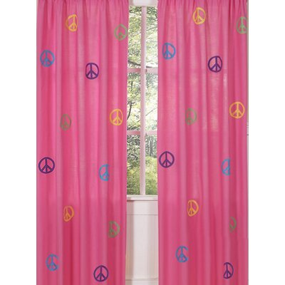 Sweet Jojo Designs Groovy Collection Window Panels 