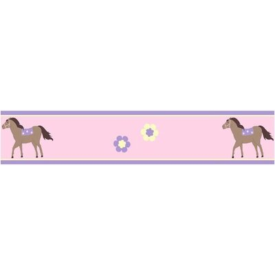 Pony Collection Wall Paper Border