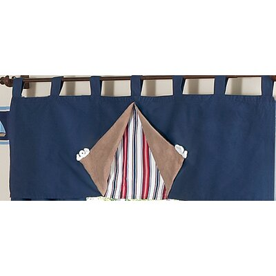 Sweet Jojo Designs Nautical Nights Collection Window Valance