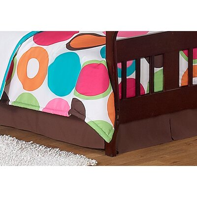 Deco Dot Collection Toddler Bed Skirt
