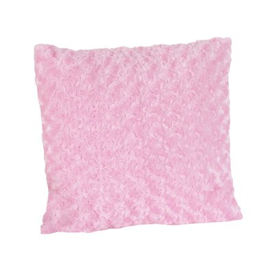 Sweet Jojo Designs Olivia Decorative Pillow with Minky Swirl