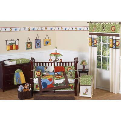 Sweet Jojo Designs Jungle Time Crib Bedding Collection