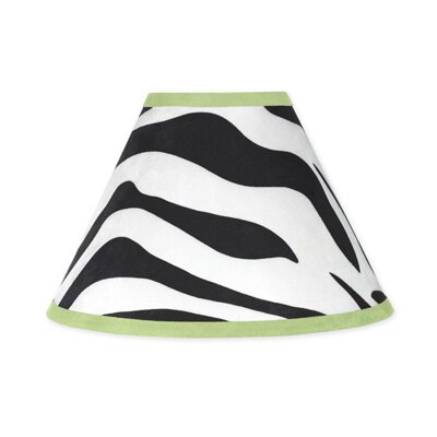 Sweet Jojo Designs Zebra Lime Collection Lamp Shade