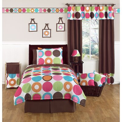 Sweet Jojo Designs Deco Dot Children's and Teen Full / Queen Bedding Collection