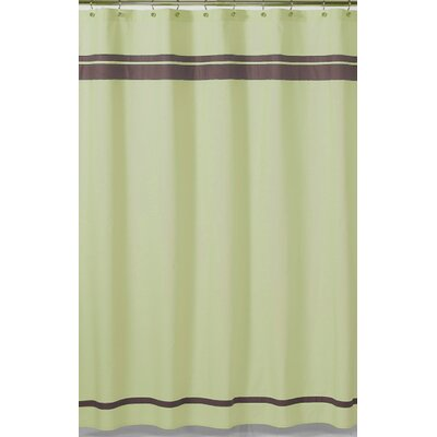 Hotel Green and Brown Collection Shower Curtain