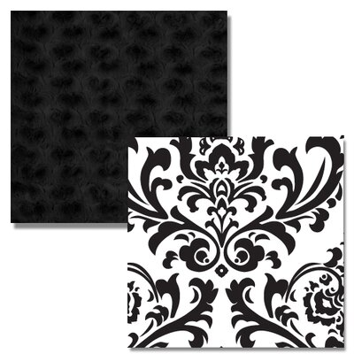 Sweet Jojo Designs Isabella Black and White 9 Piece Crib Bedding Set