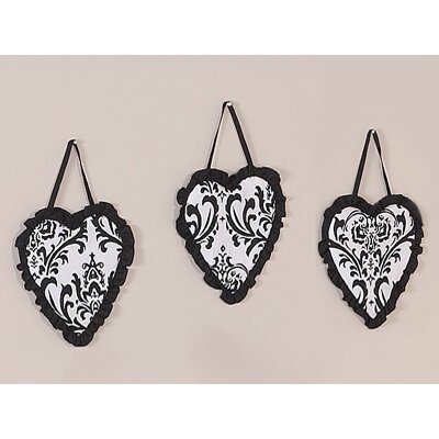 Isabella Black and White Collection Wall Hangings (Set of 3)