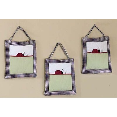 Sweet Jojo Designs Ladybug Parade Collection Wall Hangings